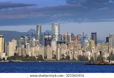 Vancouver, September 2015, British Columbia, Canada - stock photo