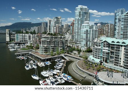 Vancouver Skyline - stock photo