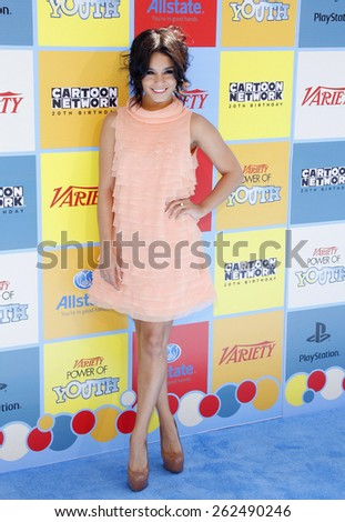 Vanessa Hudgens at the Variety's 6th Annual Power Of Youth held at the Paramount Studios in Hollywood on September 15, 2012.  - stock photo