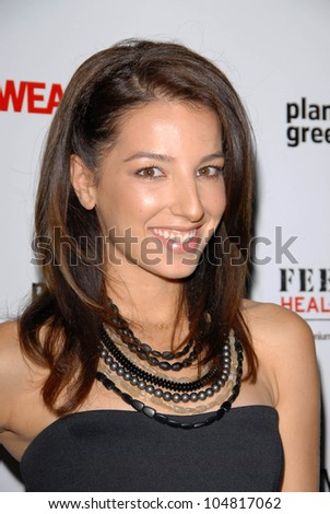 Vanessa Lengies at the Feed Health Backpack Launch Benefitting Awearness and Feed Projects. Living Homes, Santa Monica, CA. 08-26-09