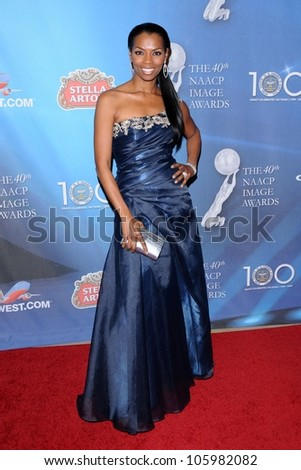 Vanessa Williams at the 2009 NAACP Image Awards After Party. Beverly Hilton Hotel, Beverly Hills, CA. 02-12-09 - stock photo