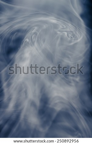 Vapor Smoke Abstract - 1 - stock photo