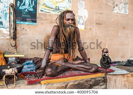 Sadhus Stock Images Royalty Free Images Vectors