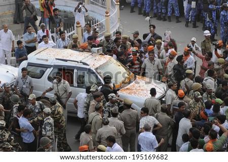 Narendra Modi Security Convoy Narendra Modi's Convoy