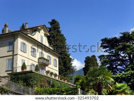 Varenna village, Como Lake, Italy, Europe. - stock photo