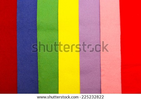 varicolored felt background  - stock photo