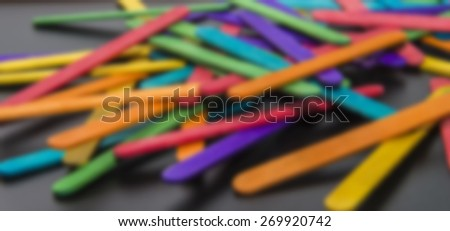 Variety color of wooden stripe in Blur style