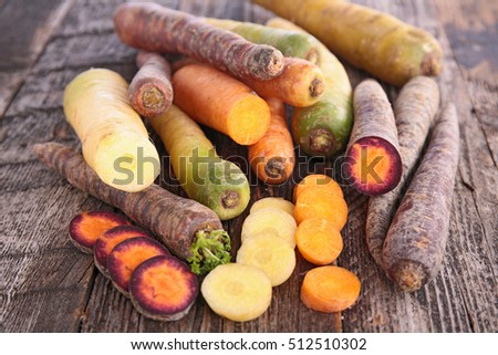 variety of carrot