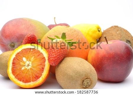 Various fruits  - stock photo