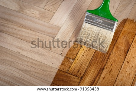 white wood varnish
