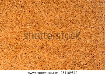 Varnished Cork Oak Bark Wood Texture  - stock photo