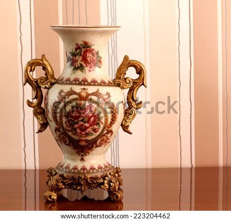 vase. - stock photo