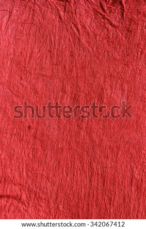 Vat paper - red background