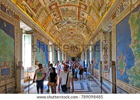 Vatican City Rome Italy August 18 Stock Photo Royalty Free