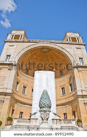 Vatican.October.Architecture. - stock photo