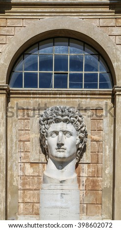 Vatican, Rome, Italy. Antique sculpture - stock photo