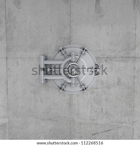 Vault Safe - stock photo
