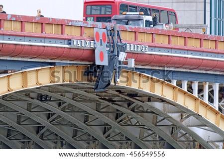 Vauxhall bridge - stock photo