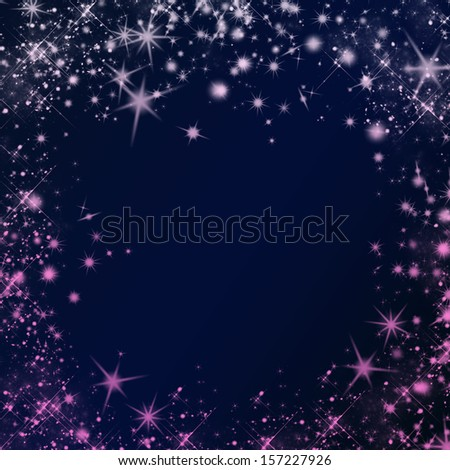 Vector abstract dark background. Blurry smooth glowing waves. - stock photo