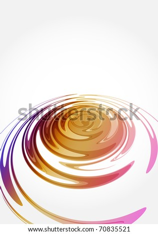 Vector color abstract background. Illustration - stock photo