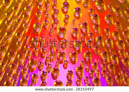 Vector water background - stock photo