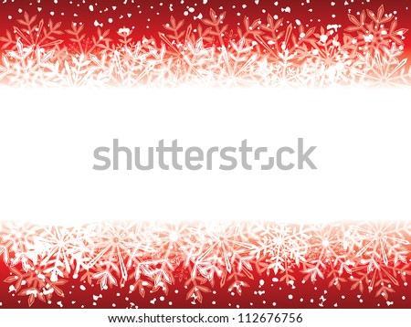 Vector winter background. Raster version, vector file id: 112142252 - stock photo