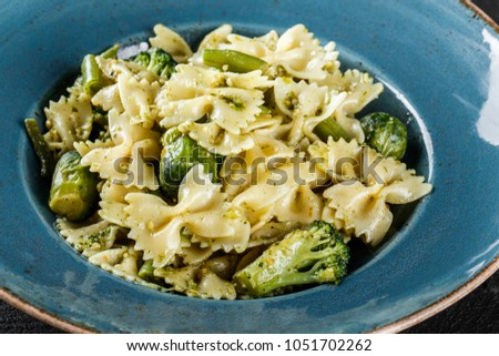 recipe: spinach brussel sprout pasta [26]