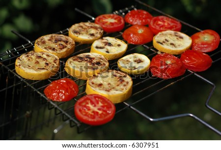 Vegetable BBQ - stock photo