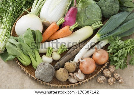 Vegetable foods