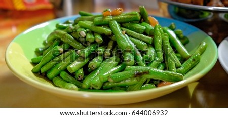 Vegetable in oyster sauce