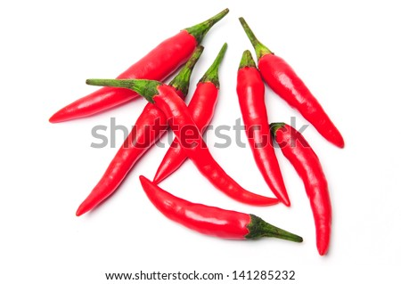 Vegetables: Chili Pepper Red