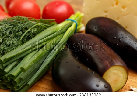 Vegetables in the kitchen, cooking