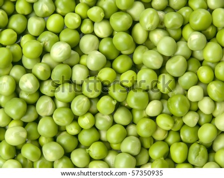 Vegetables  peas  fresh
