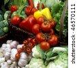 vegetables still life - stock photo
