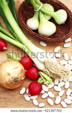 Vegetarian vegetables  - stock photo