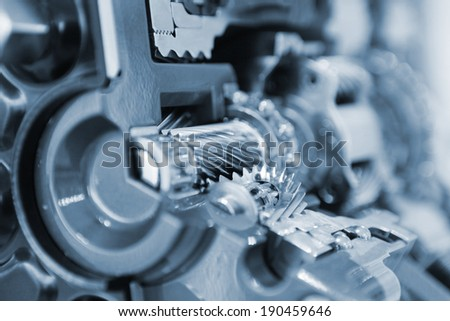vehicle gear set - stock photo