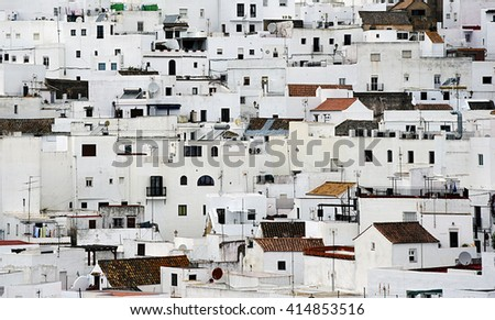 Vejer de la Frontera, Cadiz - stock photo