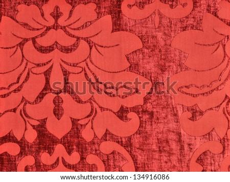 velvet fabric wallpaper - stock photo