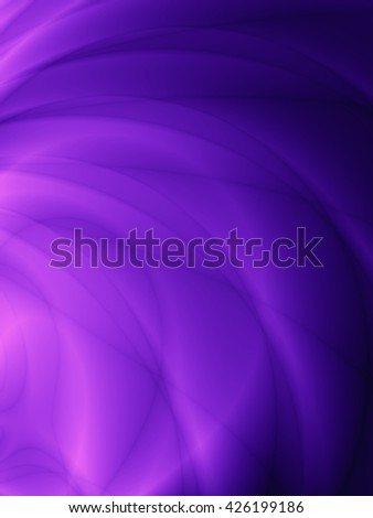 Velvet fashion violet card wavy abstract template design - stock photo