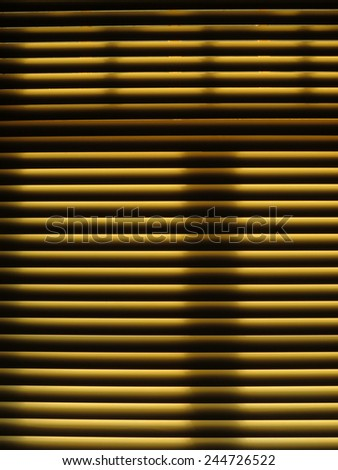 Venetian blind - stock photo