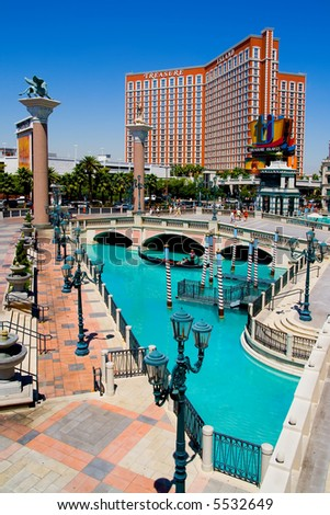 Venetian Casino in Las Vegas - stock photo