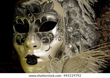 Venetian Mask - stock photo