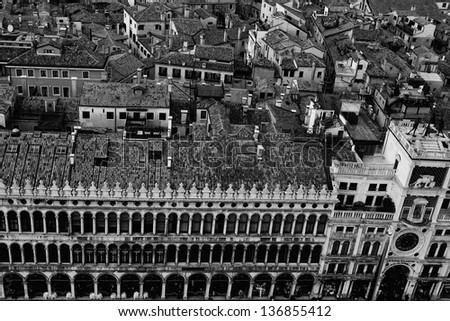 Venice Above - stock photo