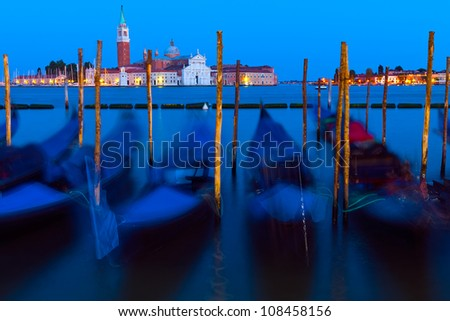 Venice and its Lagoon - stock photo