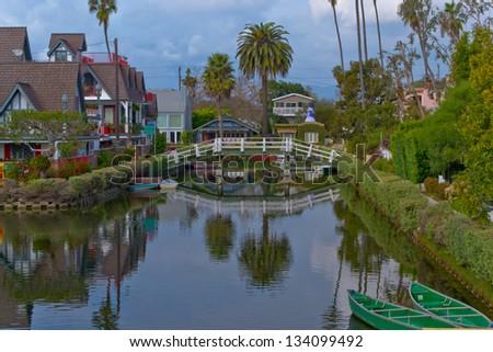 Venice, California, USA - stock photo