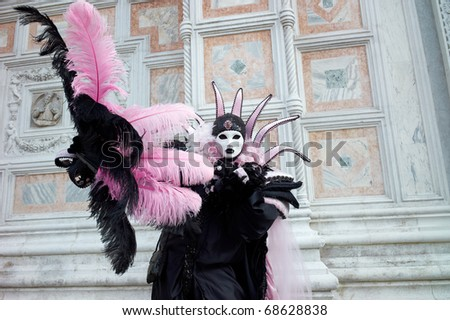 VENICE - FEBRUARY 13: The Carnival of Venice is an annual festival starting around two weeks before Ash Wednesday and ends on Shrove Tuesday or Mardi Gras in February 13, 2010 in Venice, Italy.