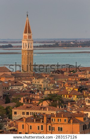 Venice in Italy - stock photo