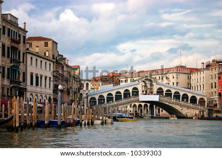 Venice  is a city in northern Italy, the capital of region Veneto. - stock photo