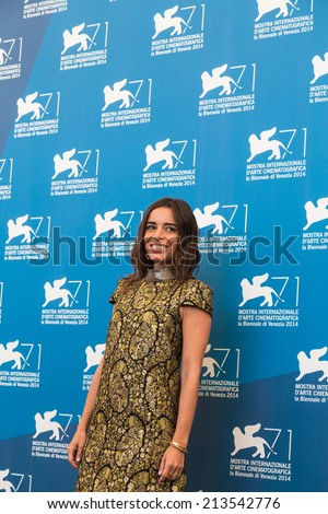 VENICE, ITALY - AUGUST 28: Elodie Bouchez attends 'Reality' Photocall during the 71st Venice Film Festival on August 28, 2014 in Venice, Italy