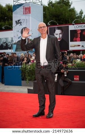 VENICE, ITALY - SEPTEMBER 02: Gabriele Salvatores attends the 'Italy In A Day' - Premiere during the 71st Venice Film Festival on September 2, 2014 in Venice, Italy.